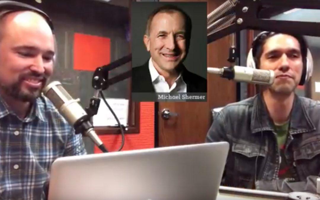 Handcuffed to An Atheist Part 1 – Michael Shermer