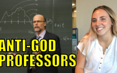 First day of college: Professor mocks Jesus